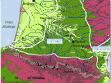 Southwest France Map the southwest Of France with the Localization Of the Sample Sites