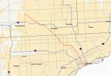 Southwestern Michigan Map M 10 Michigan Highway Wikipedia