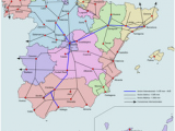 Spain Railway Map Renfe Operadora Revolvy
