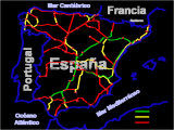 Spain Railway Map Spain Railways Skyscrapercity
