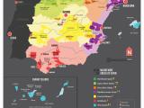Spain tour Map Map Of Spanish Wine Regions Via Reddit Spain Map Of Spain