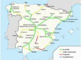 Spain Train Route Map 48 Best Map Of Spain Images In 2019 Map Of Spain Spain Map