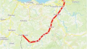 Spain Trains Map C1 Route Time Schedules Stops Maps San Sebastian Donostia