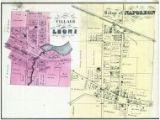 Spring Arbor Michigan Map Jackson County 1874 Michigan Historical atlas