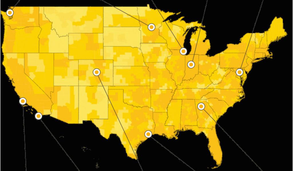 Sprint Coverage Map Ohio Sprint 4g Lte Coverage Map Elegant Design on