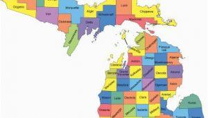 St Ignace Michigan Map Michigan Map with Counties Big Michigan Love Michigan Map Guns