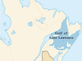 St Lawrence River On Canada Map Gulf Of Saint Lawrence Wikipedia