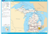State Map Of Michigan with Cities Index Of Michigan Related Articles Wikipedia