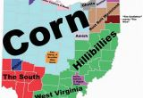 State Of Ohio Map with Cities 8 Maps Of Ohio that are Just too Perfect and Hilarious Ohio Day