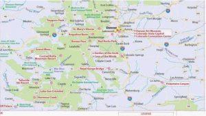 Street Map Colorado Springs Colorado Lakes Map Maps Directions