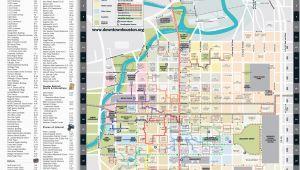 Street Map Houston Texas Maps Downtown Houston