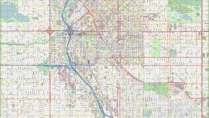 Street Map Of Denver Colorado Large Detailed Street Map Of Denver