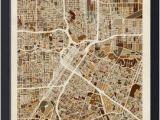 Street Map Of Houston Texas Houston Texas City Street Map by Michael tompsett Things I Love