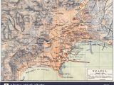 Street Map Of Naples Italy Historic Map Italy Stock Photos Historic Map Italy Stock Images