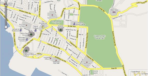 Street Map Of Port Of Spain Trinidad Https Www Ttcs Tt Osswin Poster 1 Draft 2007 07 30t13 26