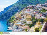 Street Map Of Positano Italy Positano Italy Stock Photo Image Of Naples Amalfi 115816406