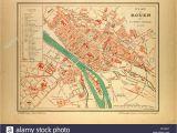 Street Map Of Rouen France Map Rouen France Stock Photos Map Rouen France Stock