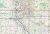 Street Map Of Venice Italy Printable Large Detailed Street Map Of Denver