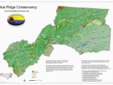 Sugar Mountain north Carolina Map Protected areas Blue Ridge Conservancy