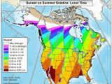 Sunshine Hours Map Europe How Much Daylight Will You Receive On the Summer solstice