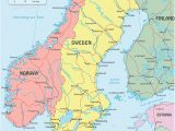 Sweden On Europe Map Sweden On Map and Travel Information Download Free Sweden