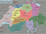 Switzerland On A Map Of Europe Switzerland Travel Guide at Wikivoyage