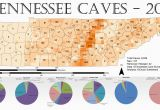 Tennessee Caves Map Tennessee Cave Density 2013 Maps Geography History Politics