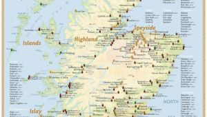 Tennessee Distillery Map Scotland S Distilleries Map 3rd Edition A 2013 A Poster with All