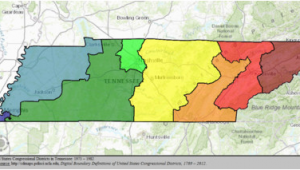 Tennessee Districts Map Tennessee S Congressional Districts Wikipedia