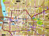 Tennessee Map Showing Cities Memphis Map Map Of Memphis the Surrounding areas