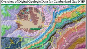 Tennessee Natural Resources Map Nps Geodiversity atlas Cumberland Gap National Historical Park