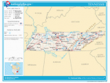 Tennessee On the Us Map Tennessee Wikipedia
