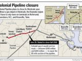 Tennessee Pipeline Map Gasoline Pipe Tagged for Closure Sending Tankers Chasing for