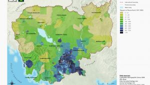 Tennessee Population Density Map Population Density Map Of California California Population Density
