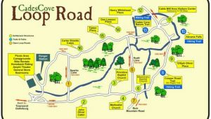 Tennessee Road Maps Cades Cove Places I Enjoy In 2019 Cades Cove Smoky Mountain