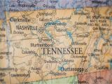 Tennessee School District Map Old Historical City County and State Maps Of Tennessee