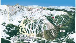 Tennessee Ski Resorts Map Trail Map Arapahoe Basin