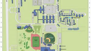 Tennessee State University Campus Map the University Of Memphis Main Campus Map Campus Maps the