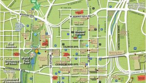 Tennessee State University Map Maps City Of Knoxville