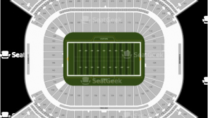 Tennessee Titans Parking Map Nissan Stadium Seating Chart Map Seatgeek