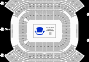 Tennessee Titans Stadium Map Nissan Stadium Seating Chart Map Seatgeek