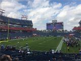 Tennessee Titans Stadium Map Nissan Stadium Section 121 Tennessee Titans Rateyourseats Com