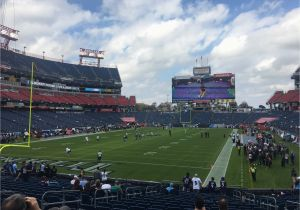 Tennessee Titans Stadium Map Nissan Stadium Section 121 Tennessee Titans Rateyourseats Com
