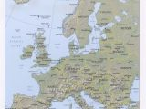 Terrain Map Of Europe 36 Intelligible Blank Map Of Europe and Mediterranean