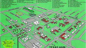Texas A&m Kingsville Map Tamu Kingsville Campus Map by Chris Silver Smith