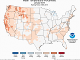 Texas Average Temperature Map National Climate Report January 2019 State Of the Climate