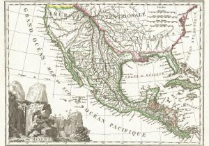Texas Blm Land Map File 1810 Tardieu Map Of Mexico Texas and California Geographicus