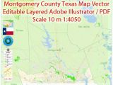 Texas Colleges and Universities Map Montgomery County and Nearest Map Vector Texas Exact City Plan