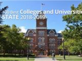 Texas Colleges and Universities Map the 100 Best Colleges and Universities by State 2018 2019
