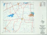 Texas Counties Map with Names Texas County Highway Maps Browse Perry Castaa Eda Map Collection